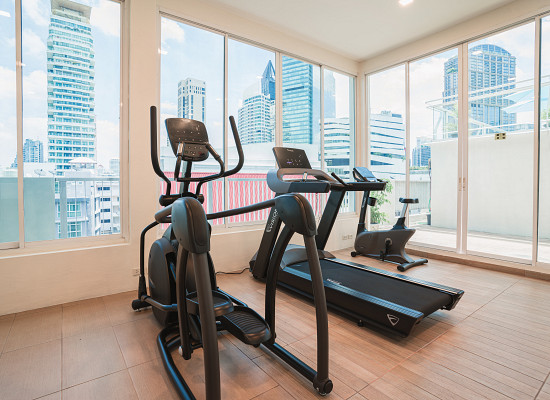 Sukhumvit luxury apartments bless residence fitness centre